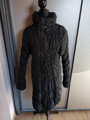 Cosima Pikowany płaszcz czarny