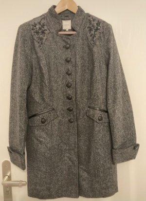 Cream Cappotto corto grigio scuro-marrone-grigio