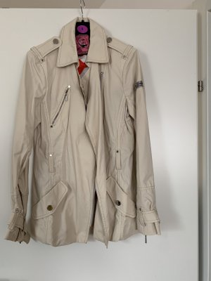 Frieda & Freddies New York Chaqueta larga beige claro