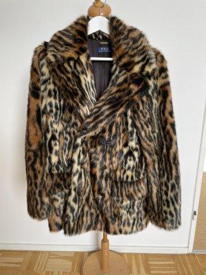 Polo Ralph Lauren Fake Fur Coat multicolored