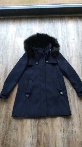 Mantel Jacke Zara Gr. 38 blau