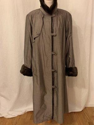 Pelt Coat green grey-black brown