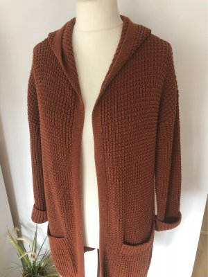 adc by Esprit Knitted Coat cognac-coloured