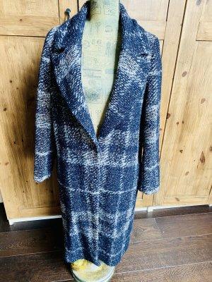 Mantel kariert , blau grau, Esprit , Größe L