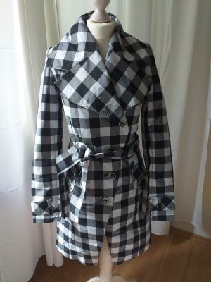 Daite Short Coat black-white polyester