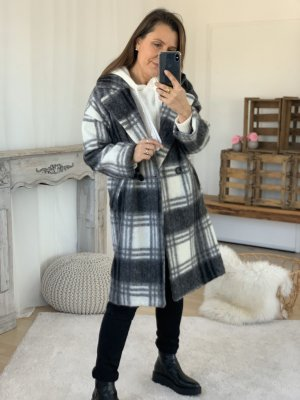 Oversized Coat multicolored