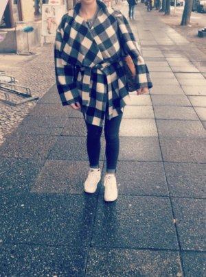 Mantel Karomuster Zara