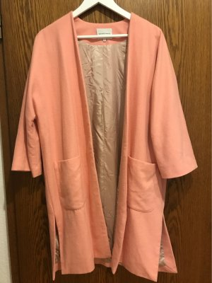 Second Female Oversized Coat pink wool