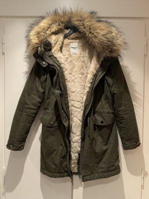 Mantel Khaki in Größe S