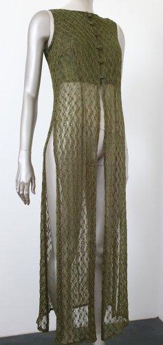 Sukienka płaszczowa oliwkowy