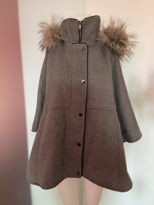 Oversized Coat silver-colored-natural white