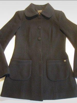 Mantel kurz - Schwarz