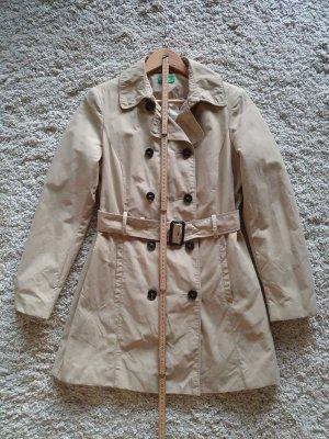 Mantel kurz Trenchcoat Gr. 40