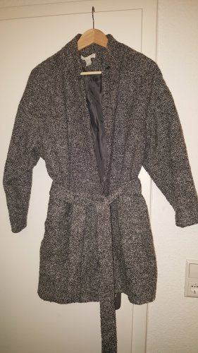 H&M Wool Jacket black-grey
