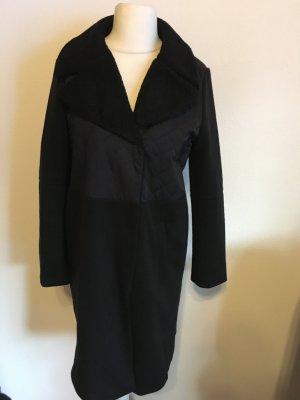 Mantel Kurzmantel Coat schwarz Basic Gr. 42