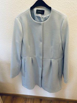 Mantel Kurzmantel Esprit hellblau