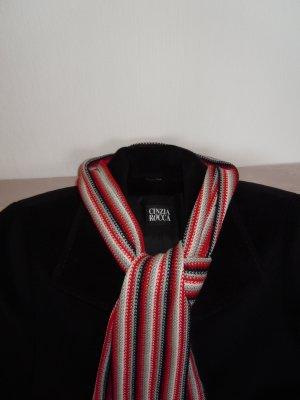 Cinzia Rocca Krótki płaszcz czarny Wełna
