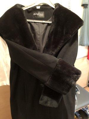 Berghaus Cappotto invernale nero-marrone scuro