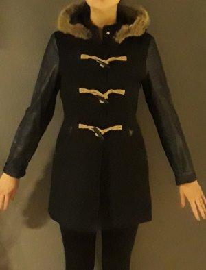 Mantel Lederärmel