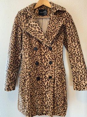 Mantel Leopardenmuster