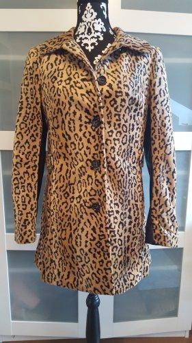 Mantel Leopardenmuster  Größe 38