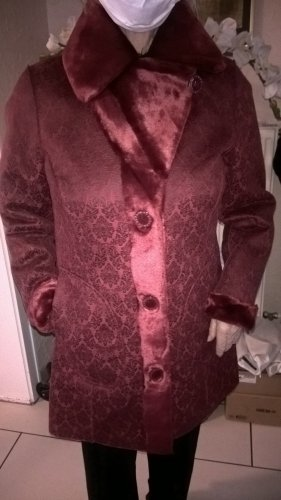Alfredo Pauly Fake Fur Jacket red polyester