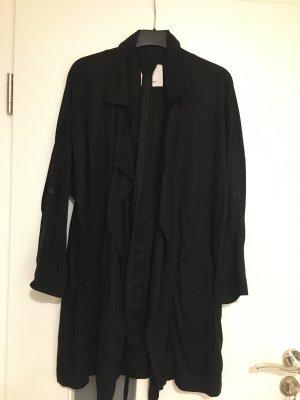 Mango casual Short Coat black