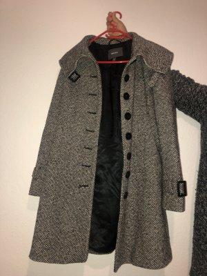 Mexx Manteau en laine multicolore