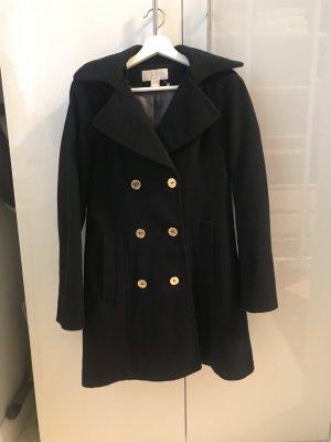 Michael Kors Hooded Coat dark blue-black
