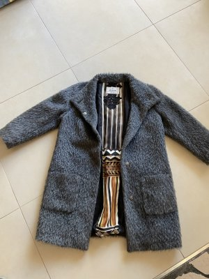 Milestone Manteau d'hiver gris anthracite-gris foncé
