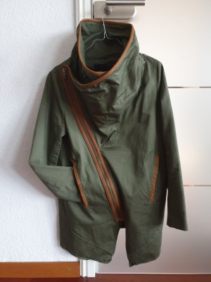 Minimum Short Coat olive green-brown red cotton