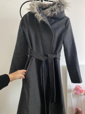 Koton Cappotto con cappuccio grigio-argento
