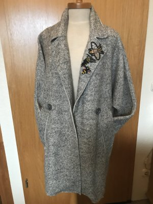 miss goodlife Oversized Coat silver-colored