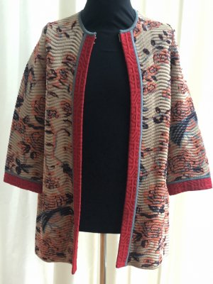 Missoni Between-Seasons-Coat multicolored