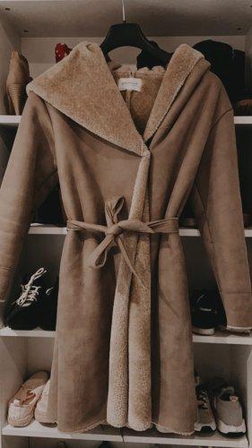 Promod Abrigo ancho camel-beige