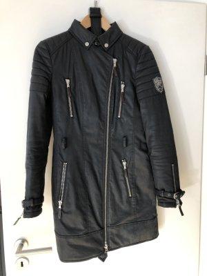 Mantel mit Gürtel Fame dunkelblau S