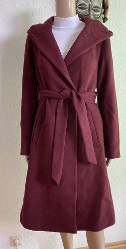 H&M Divided Hooded Coat bordeaux