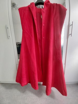Geklede jurk rood