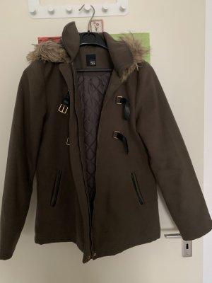 Pimkie Manteau à capuche gris vert