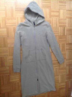 Mantel mit Kapuze / grau