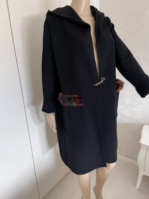 Sweet Lady Fake Fur Coat multicolored