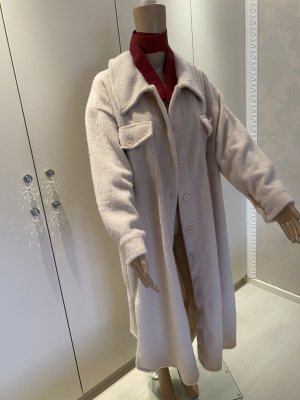 Cappotto in lana multicolore