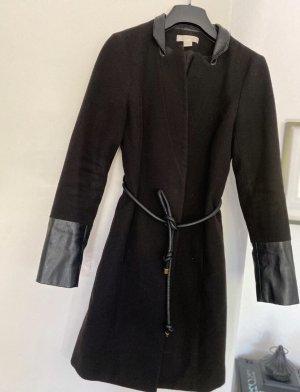 Mantel mit Lederoptik
