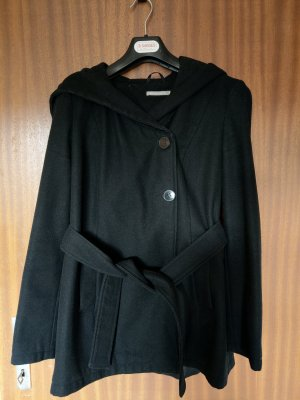 3 Suisses Hooded Coat black