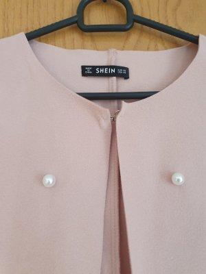 SheIn Geklede jurk stoffig roze