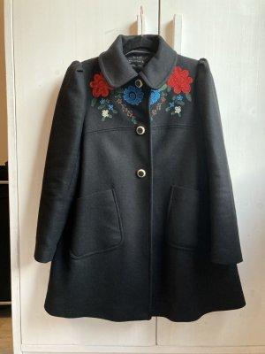 Zara Short Coat black