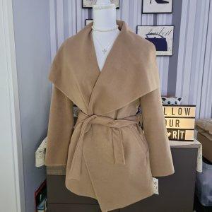 Manteau oversized marron clair