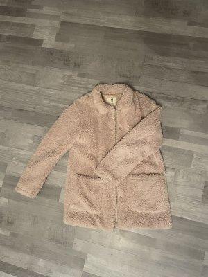 Mantel mit Teddy Optik