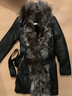 0039 Italy Fur Jacket multicolored