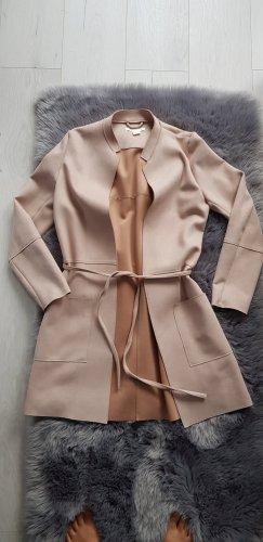 H&M Geklede jurk nude